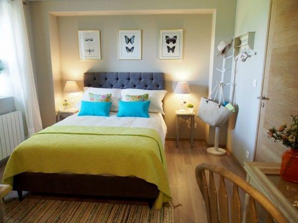 Butterfly, double deluxe room with en suite bathroom