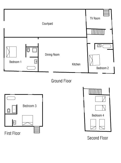 Maison Fontaine Floor Plan