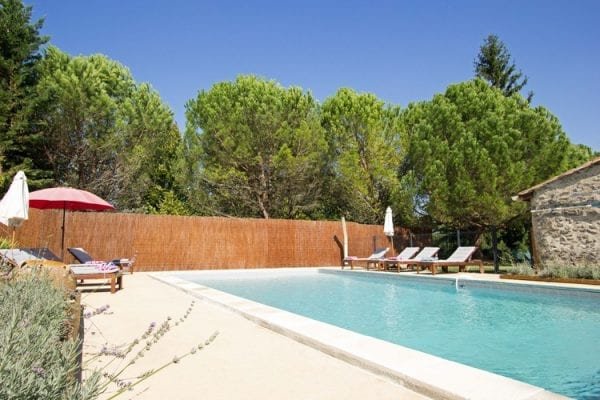11m x 5m private heated pool, fenced and gated