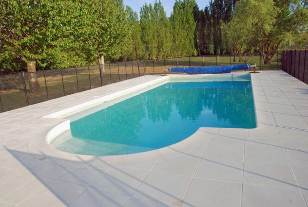 Private 10m X 5m Secure Pool is fenced and gated