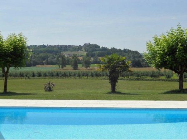 Views To The Chateau De Duras