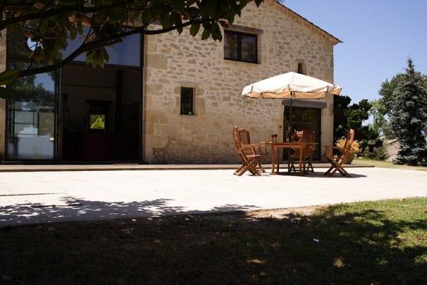 Front Terrace Maison Montignac