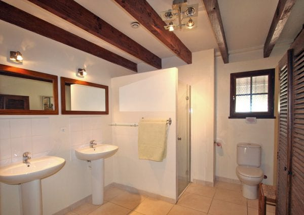 Shower room, there are two shower rooms and 3 Wc on the ground floor