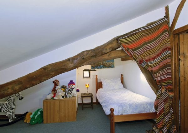 Single Bed, Attic Space. A Further Two Children