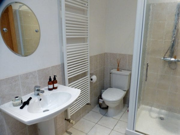 Upper Floor Bathroom With Bath Walk In Shower And Wc