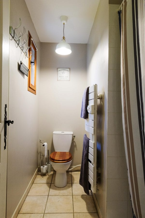 A shower and wc ground floor, a total of three shower rooms on the ground floor