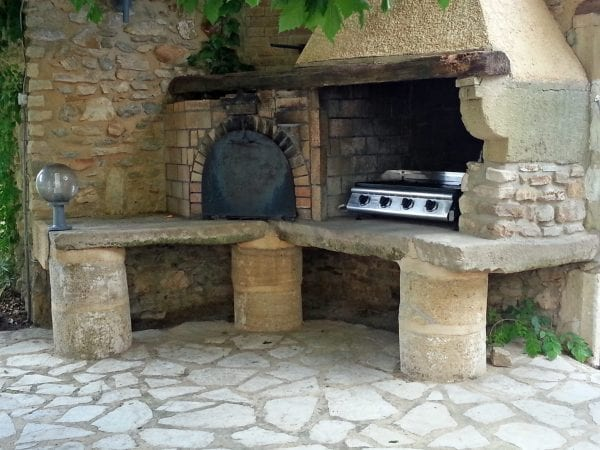Bbq and bread oven