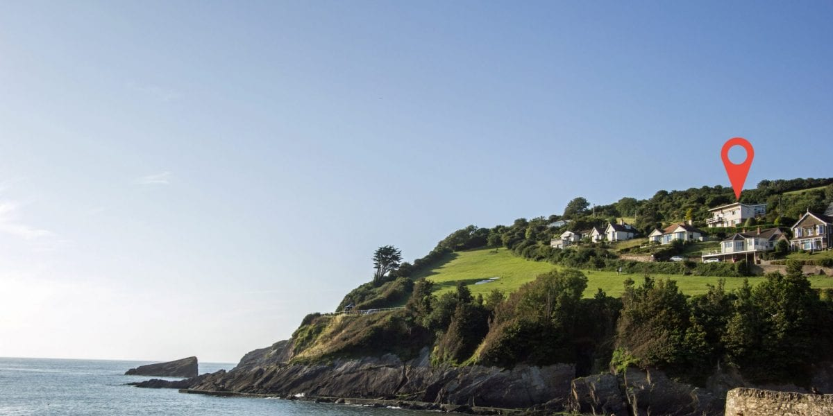 Combe Martin holiday cottage to rent with a sea view walk to the beach, North Devon, South West England
