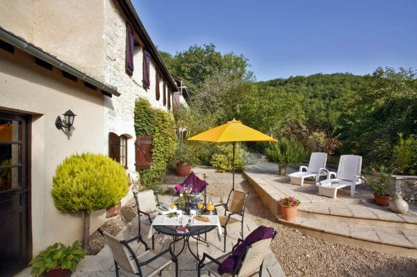Villa 2 terrace