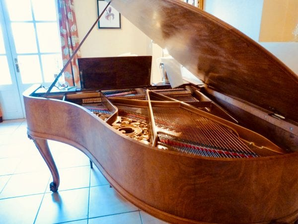 Beautiful professional piano