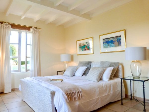 Villa Alouette, the master bedroom