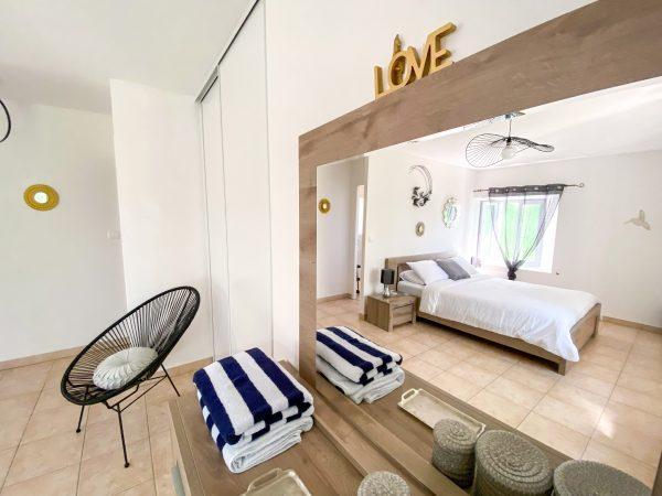 Bedroom 1 has a built in wardrobe
