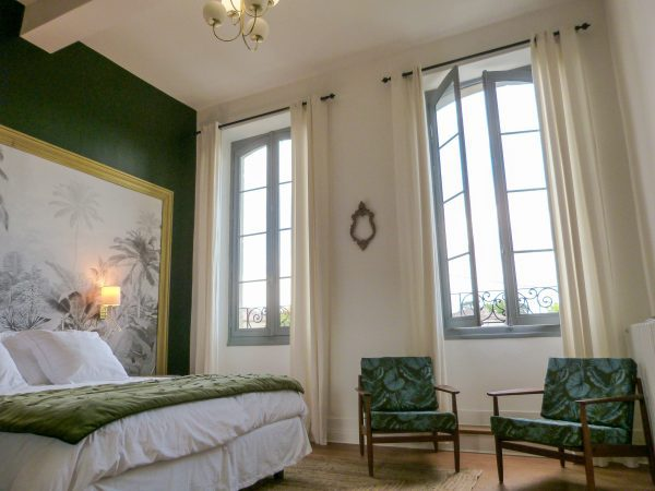 Bedroom 2 has views across Monsegur