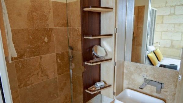 Bedroom 3 shower and wash basin
