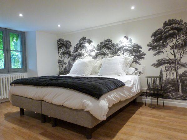 Bedroom 4. Chambre Cypres.