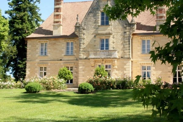 Chateau La Grave Bechade holiday accomodation