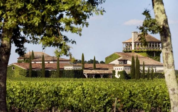 Chateau Smith Haut Lafitte near Bordeaux