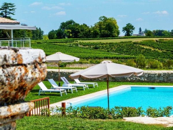 Chateau Vrai Canon Bouche pool views