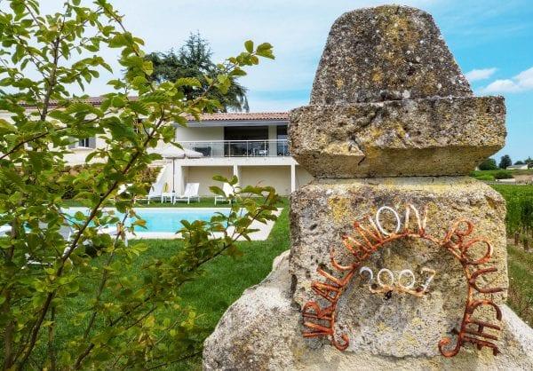 Chateau Vrai Canon Bouche holiday villa