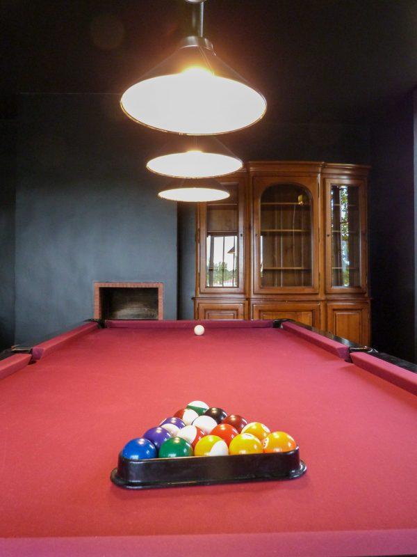 Club room pool table