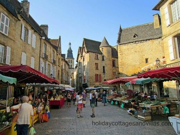 A day trip to Sarlat Market, in the Dordogne