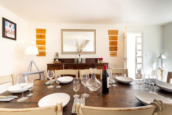 Dining table, Maison de Tilleul