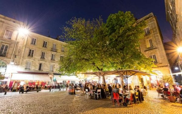 Discover the bustling nightlife in Bordeaux