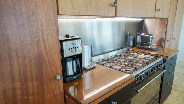 Functional kitchen, private catering can be arranged