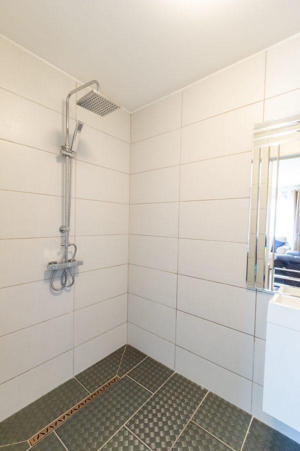 Ground floor wet room shower