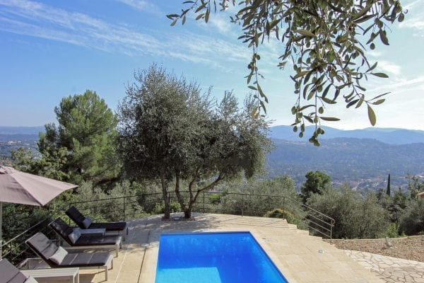 Holiday villa with a private pool near cabris, cannes, nice, antibes, cote d'azur, french riviera cabris, grasse, provence cote d