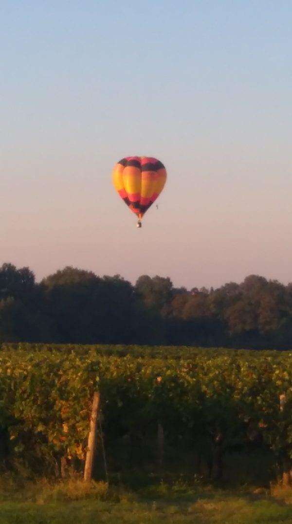 Ballon experiences are possible in the area