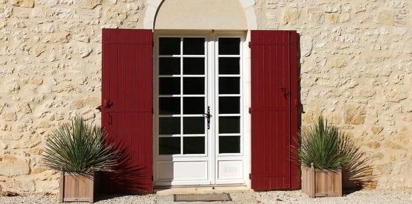 La Grange front door