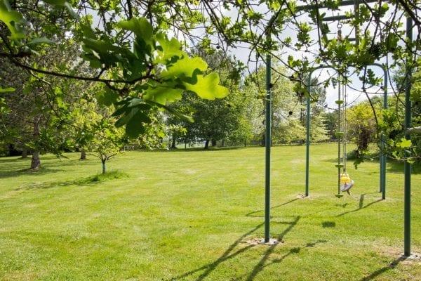 Large mature gardens