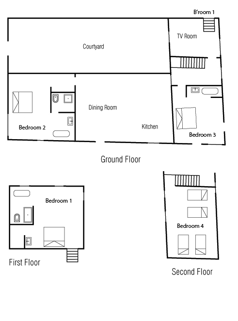 Maison Fontaine Floor Plan