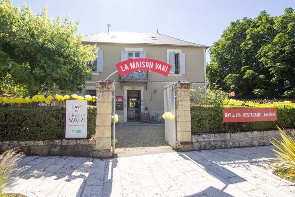 Maison Vari in Monbazillac 3km away, there is another restaurant in the village