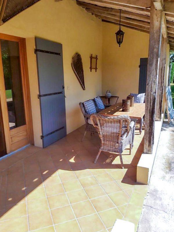 Maison du Peche covered space