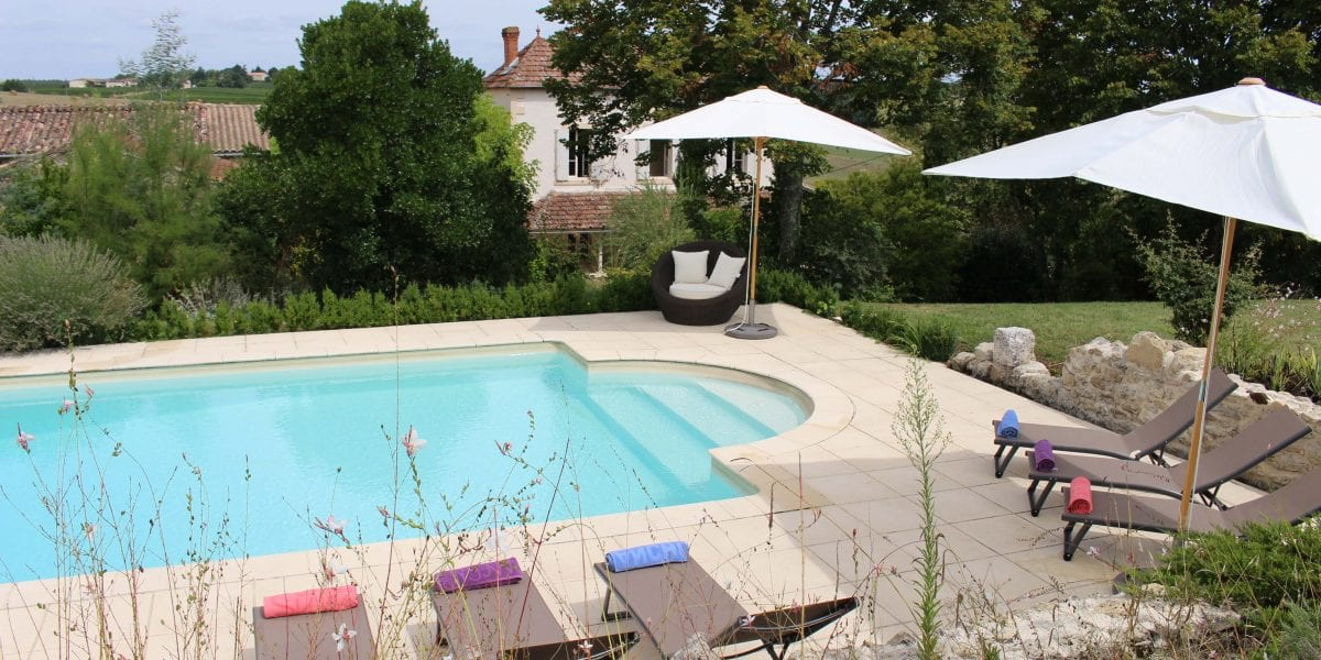 Blanchet offers complete privacy and seclusion, set between Bordeaux, Bergerac and Saint Emilion