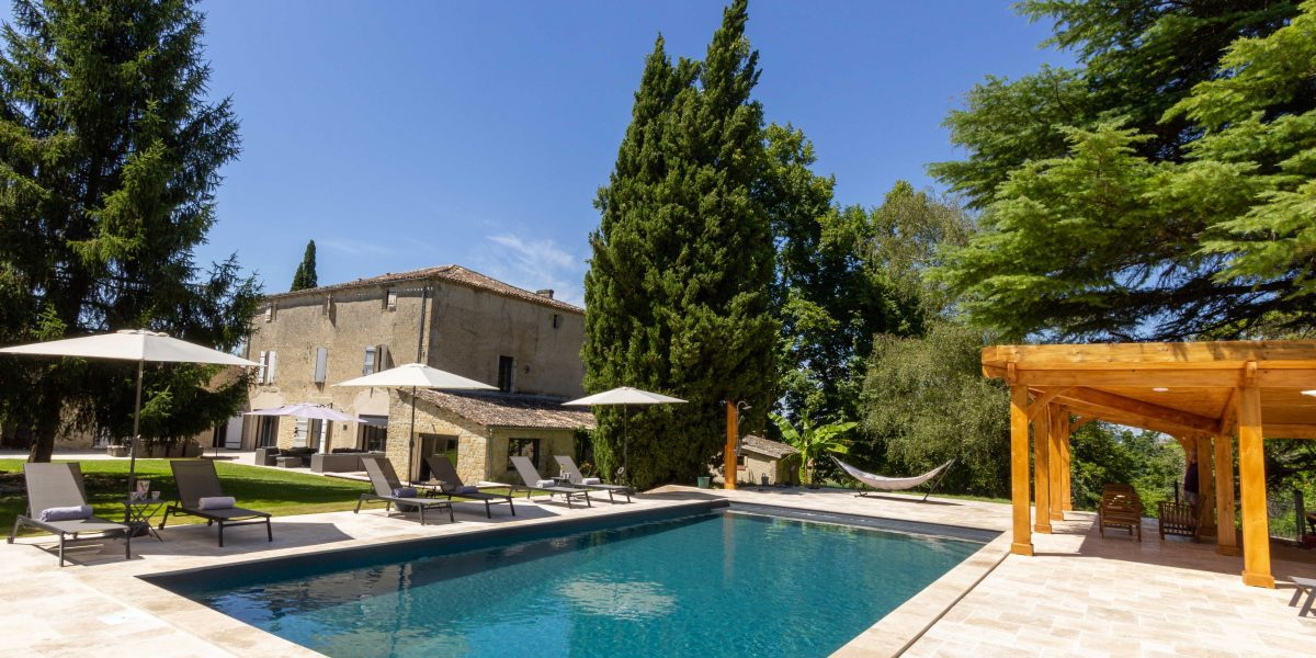 Villa Near Bordeaux Dordogne France Holiday Cottages And