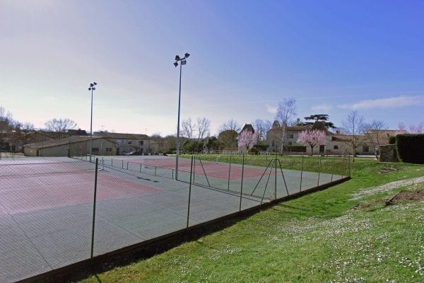 Public tennis courts just a few minutes walk away