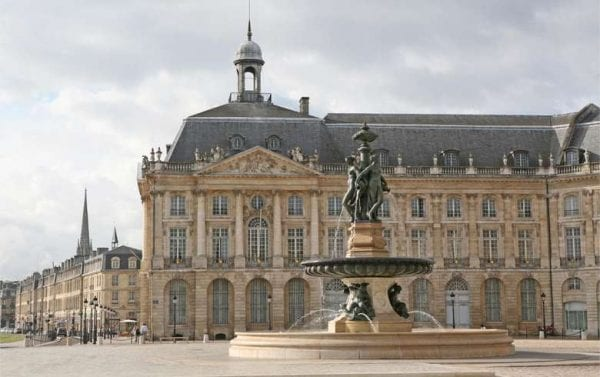Stunning architecture in Bordeaux