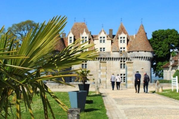 The chateau at Monbazillac