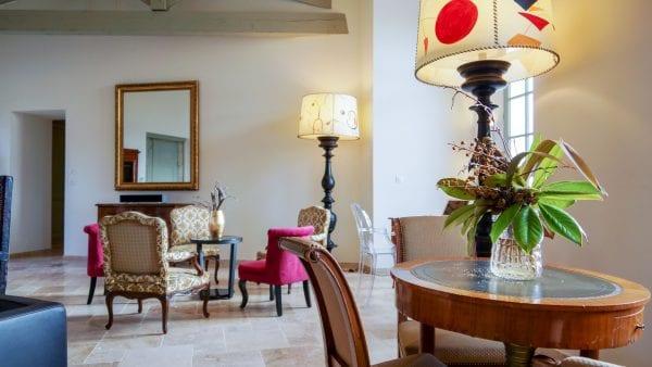 The elegant living room