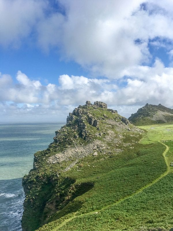 The famous SW coastal path