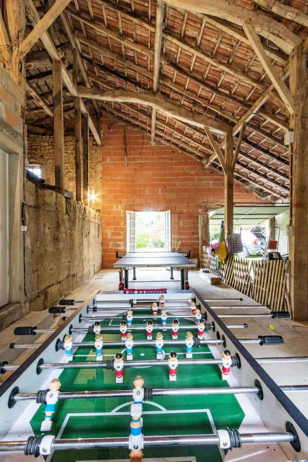 The games barn, Maison de Tilleul