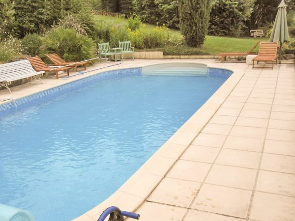 The pool is shared with the owners