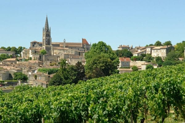 The world famous Saint Emilion