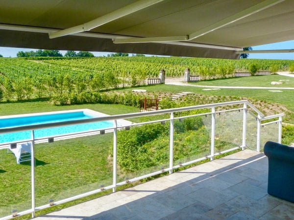There are lots of sun loungers and seating areas around the property