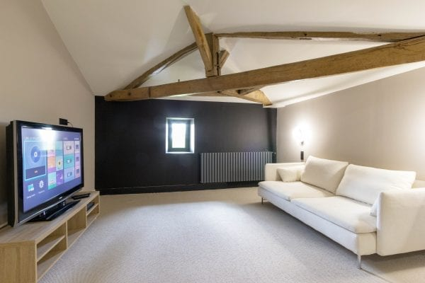 Top floor TV lounge or play room