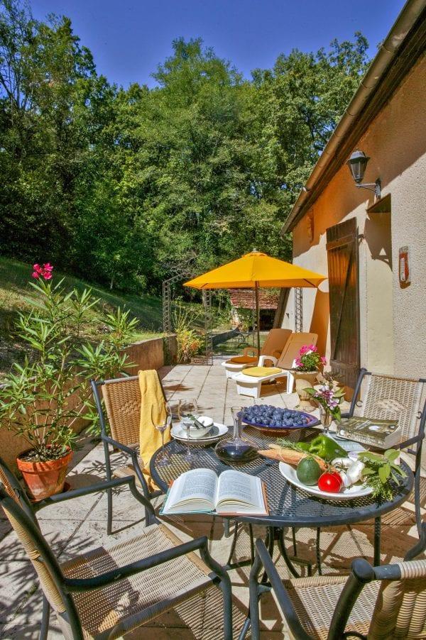 Villa 3 private terrace