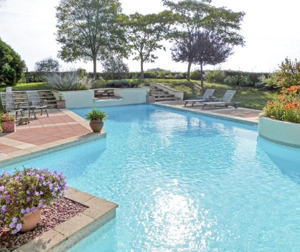Villa Alouette, a beautiful French villa to rent with a stunning feature heated pool